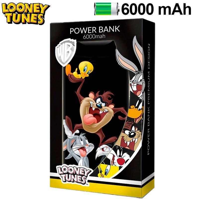 Power Bank Micro-usb 6000 mAh Looney Tunes