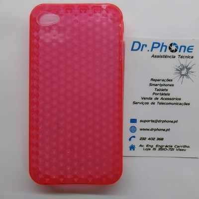 Capa iPhone 4/4S silicone