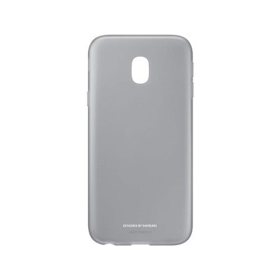 Capa Original Samsung Galaxy J3 2017 Jelly Cinzenta