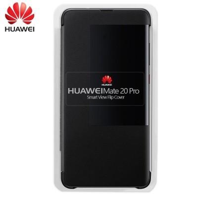 Capa Huawei Flip para Mate 20 Pro - Preto
