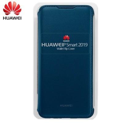 Capa Huawei Flip para PSmart 2019 /  Honor 10 Lite - Azul