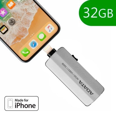 Pen Drive 32 GB para IPhone 5 / 6 / 7 / 8 / X / IPad