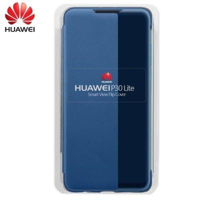 Capa Huawei Flip Cover para P30 Lite - Azul