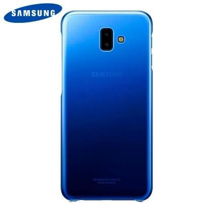 Capa Original Samsung Galaxy J6+ Gradation - Azul