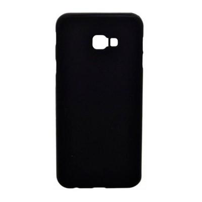 Capa silicone Samsung J4 Plus - Preto