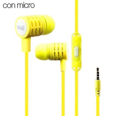 Auricular com fios COOL com Micro