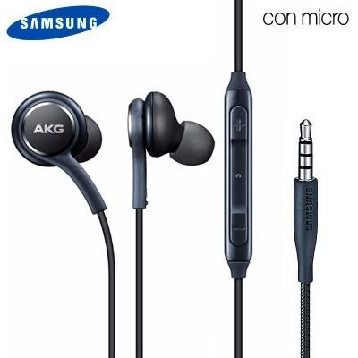 Auriculares com fios Original Samsung (AKG) - Preto