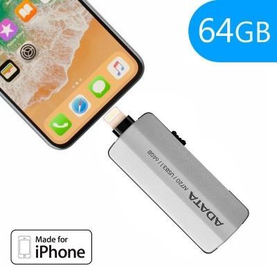 Pen Drive 64 GB USB para IPhone 5 / 6 / 7 / 8 / X / IPad