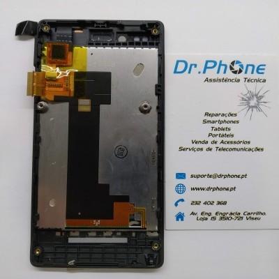 Display completo Sony Xperia Miro, ST23i - Preto