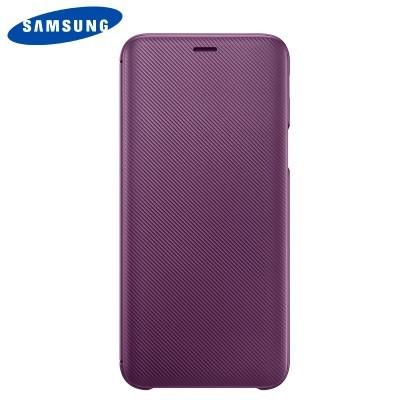 Capa Original Samsung Galaxy J6 2018 Wallet Cover - Violeta