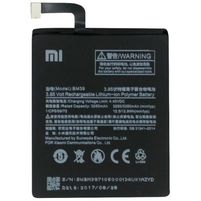 Bateria para Xiaomi MI6 (BM39)