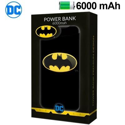 Power Bank Micro-usb 6000 mAh DC Batman