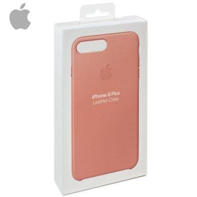 Capa Apple iPhone 7 Plus/8 Plus Leather - Rosa