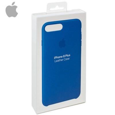 Capa Apple iPhone 7 Plus/8 Plus Leather - Azul