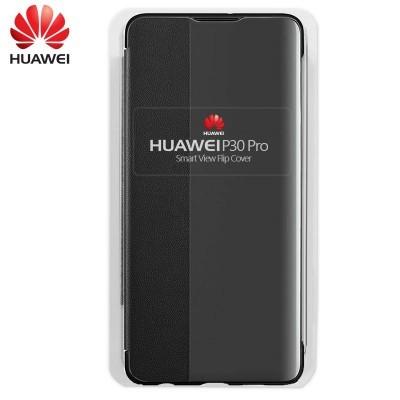 Capa Huawei Flip Cover para P30 Pro - Preto