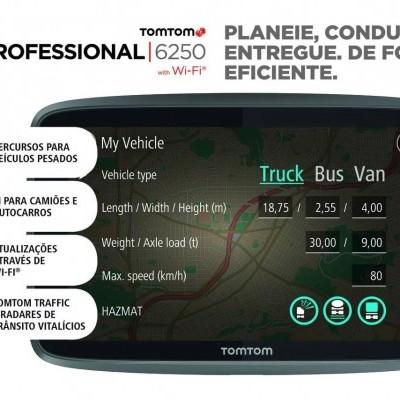 GPS TOMTOM Go Professional 6250