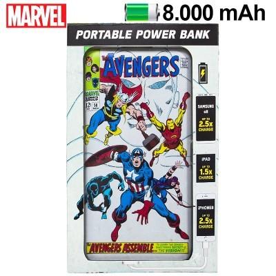 Power Bank Micro-usb 8000 mAh Marvel Avengers
