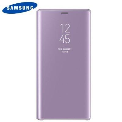 Capa Original Samsung Galaxy Note 9 Clear View - Violeta