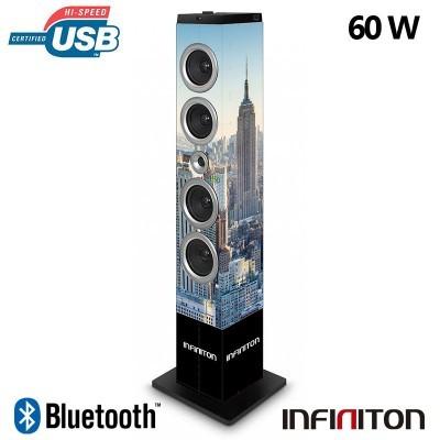 Coluna Torre Bluetooth (60W) Infiniton ST62 Nova York