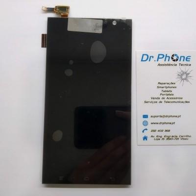 Display Hisense HS-U980 FPC-T55KH01T3M-1 / FP-TPFY05504F - Preto