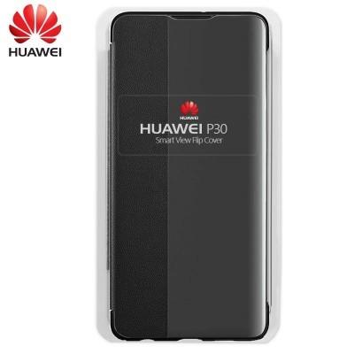 Capa Huawei Flip Cover para P30 - Preto