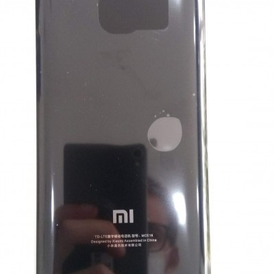 Tampa traseira Xiaomi Mi6-Preta