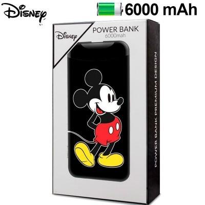 Power Bank Micro-usb 6000 mAh - Mickey