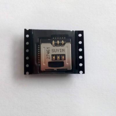 Conector com Leitor de cartão SIM e Memória