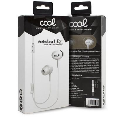 Auriculares com fios COOL com Micro