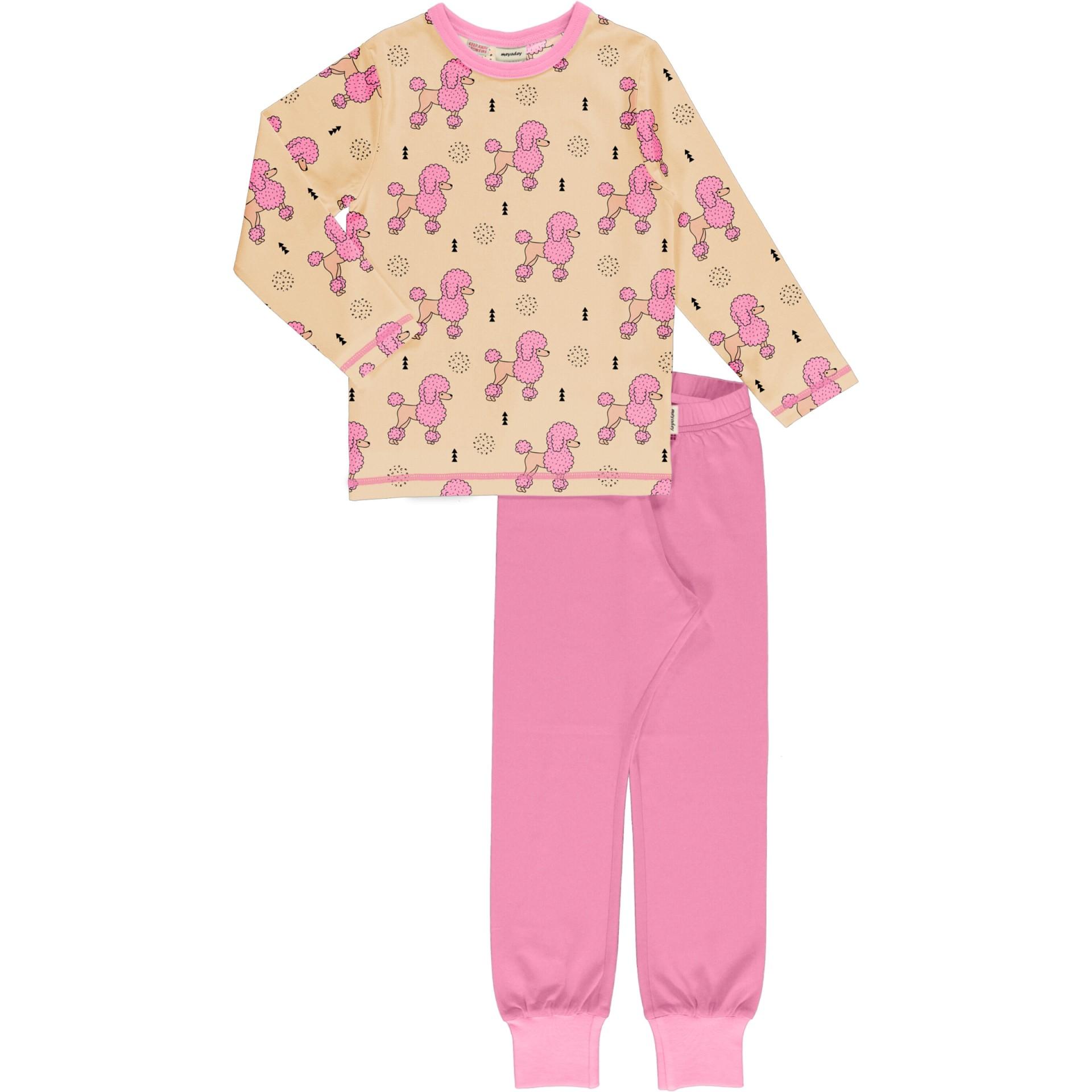 Pijama Perky Poodle Meyaday (Tamanhos disponíveis 5-6a, 7-8a, 9-10a )