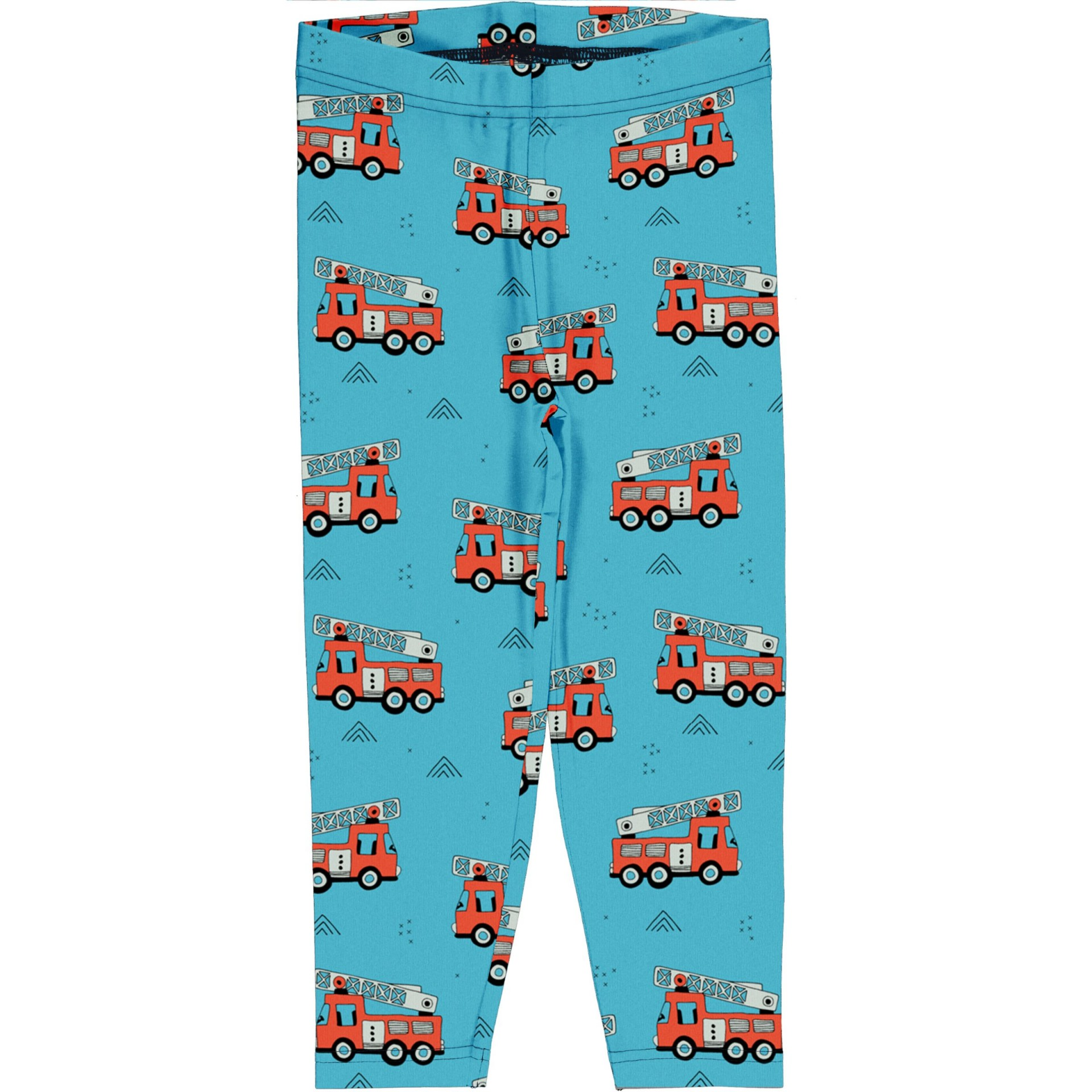 Leggings 3/4 Fire Trucks Meyaday (Tamanhos disponíveis 9-12m, 7-8a, 9-10a)