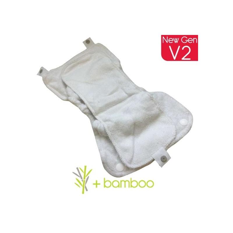 Close Pop-in Absorvente Dia em Bambu Recarga (1und.)