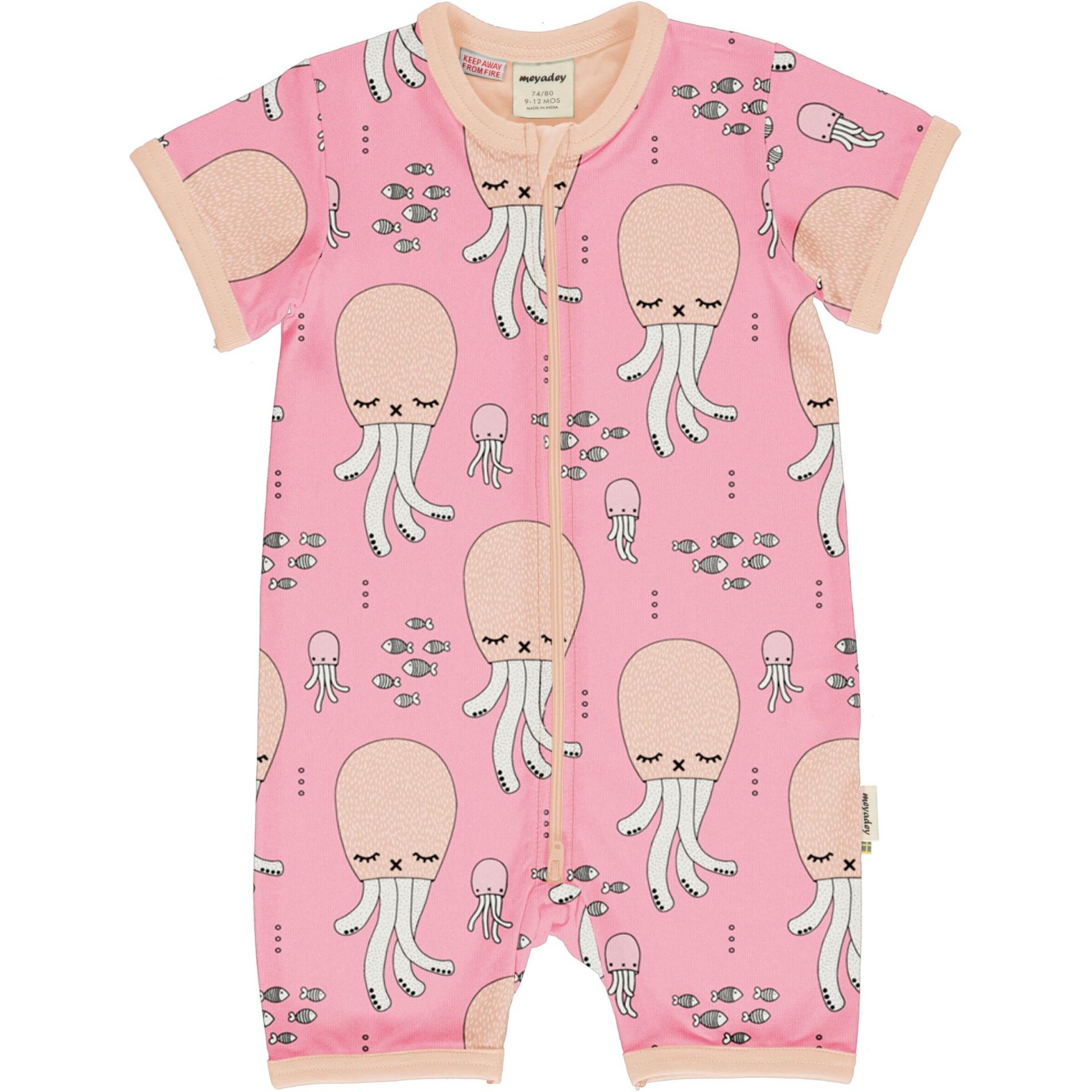Fato com zip Cute Squid Meyaday (Tamanhos disponíveis 9-12m, 18-24m)