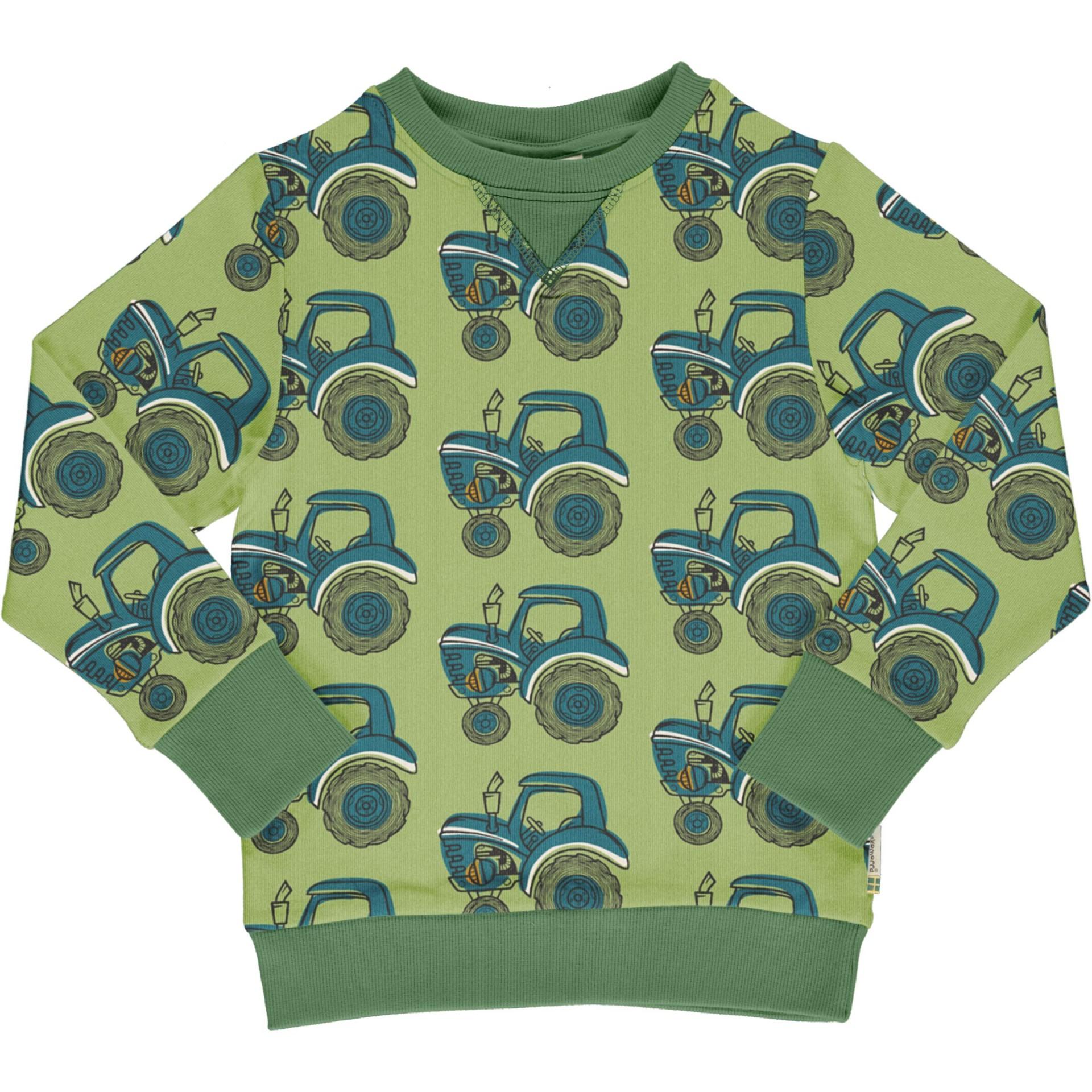 Camisola Sweatshirt TRACTOR Maxomorra (Tamanhos disponíveis 9-12m, 18-24m, 3-4a, 5-6a)