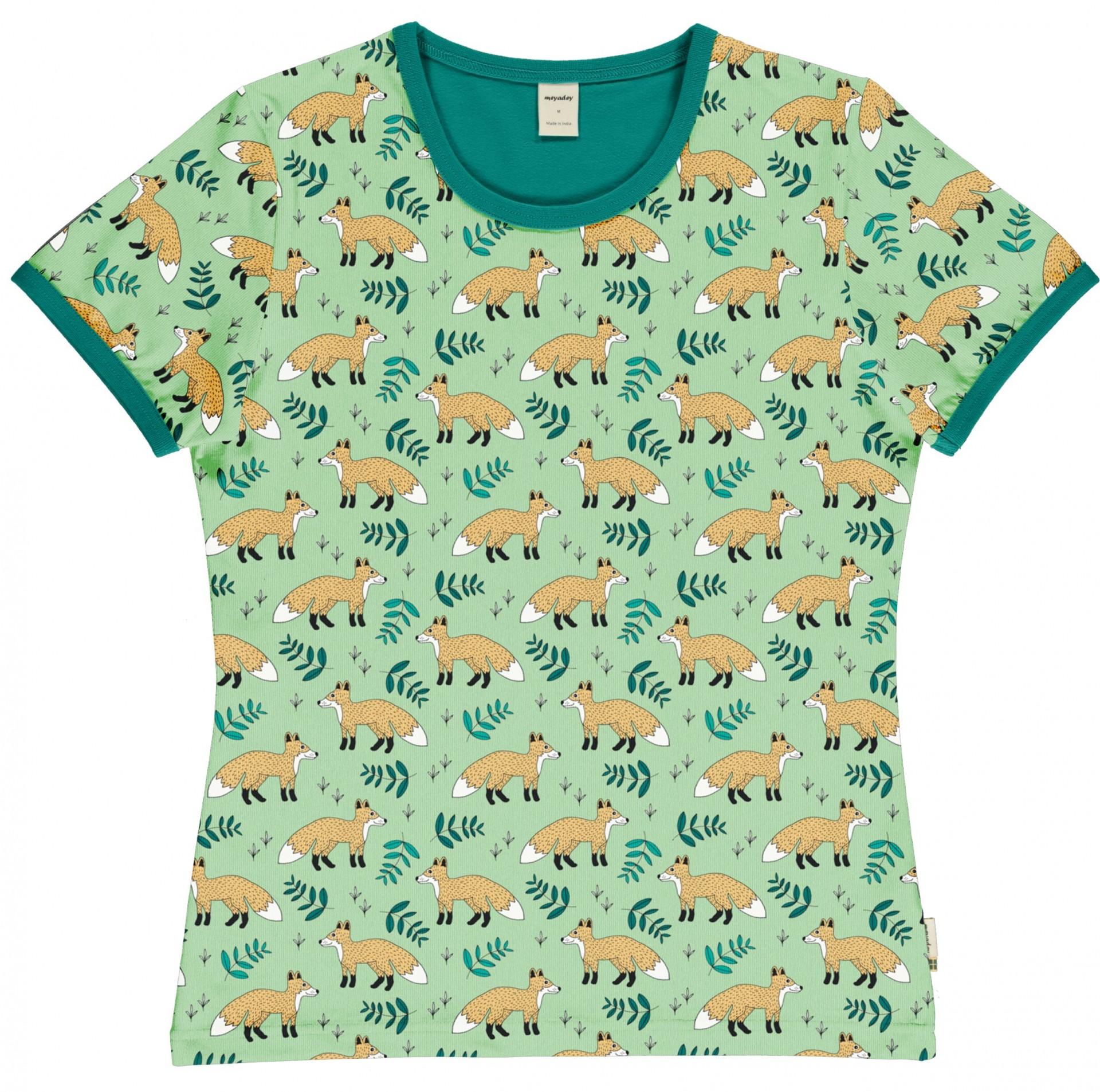 T-shirt de adulto (mulher) Wild Fox Meyaday (Tamanhos disponíveis M)