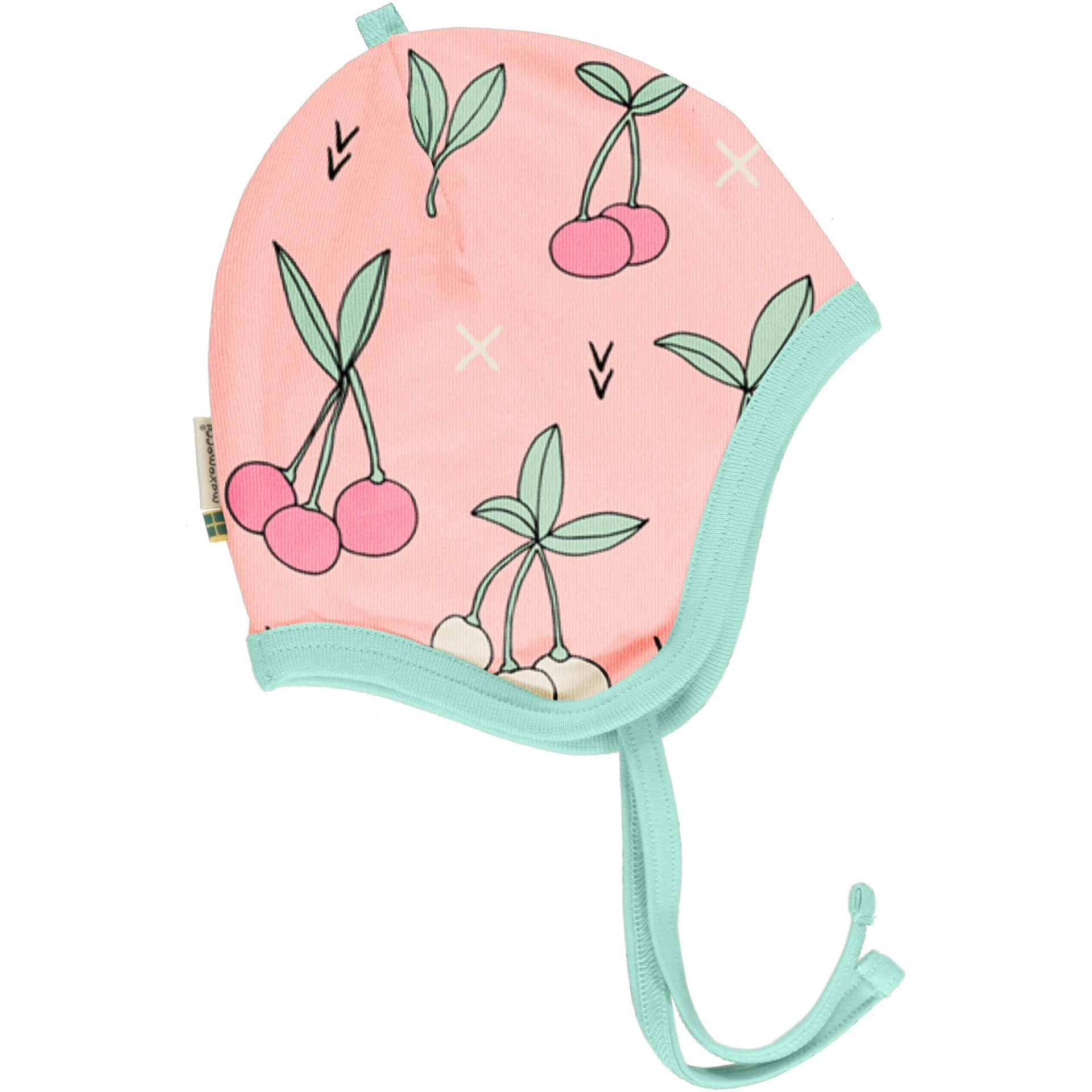 Gorro com fitas Cherry kiss Meyaday (Tamanhos disponíveis 44 e 48)