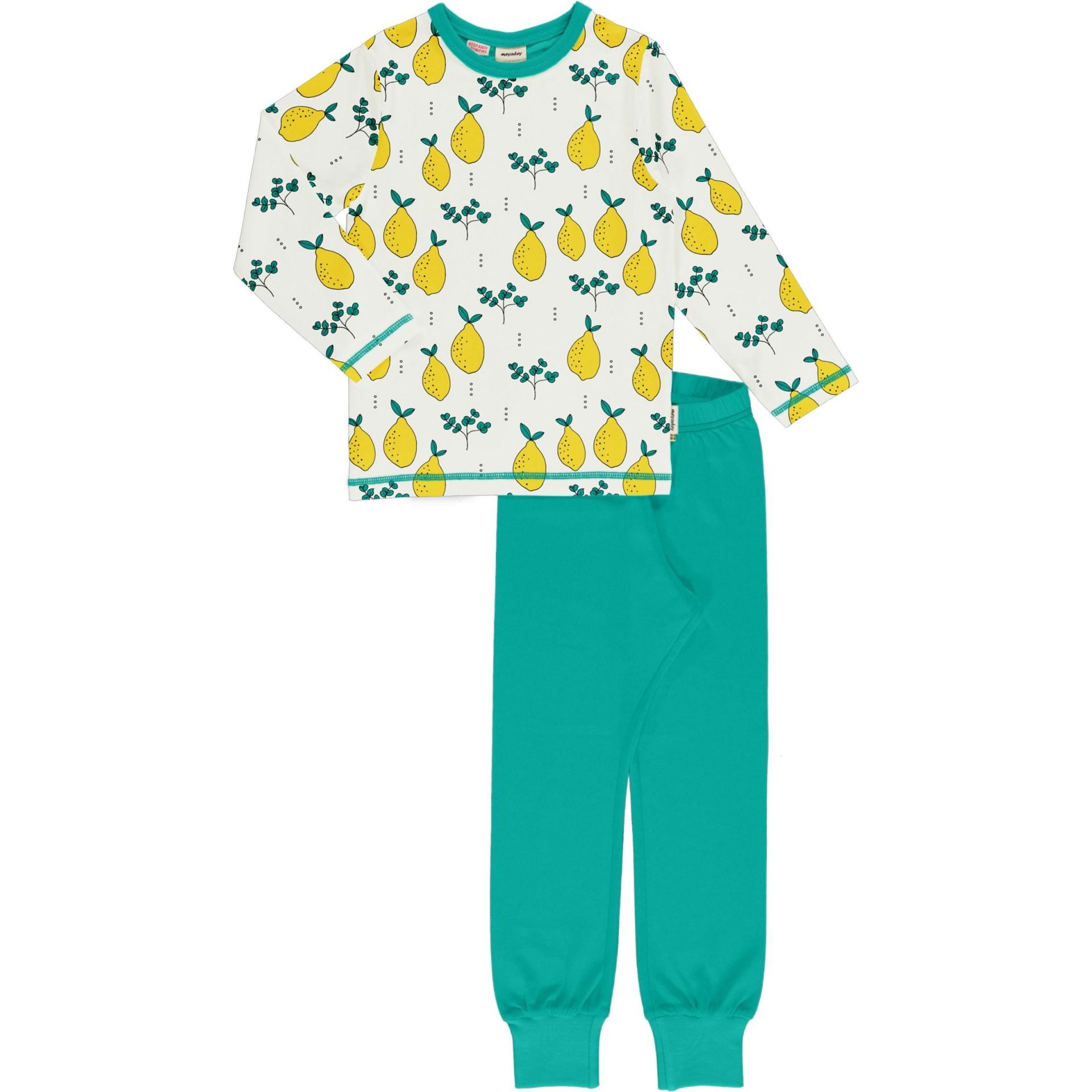 Pijama LEAFY LEMON Meyaday (Tamanhos disponíveis 18-24m, 3-4a, 5-6a, 7-8a, 9-10a)
