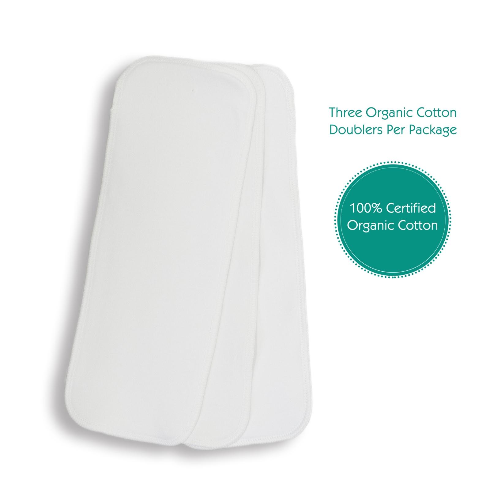 Doubler de algodão orgânico com stay dry Thirsties (3unds.)