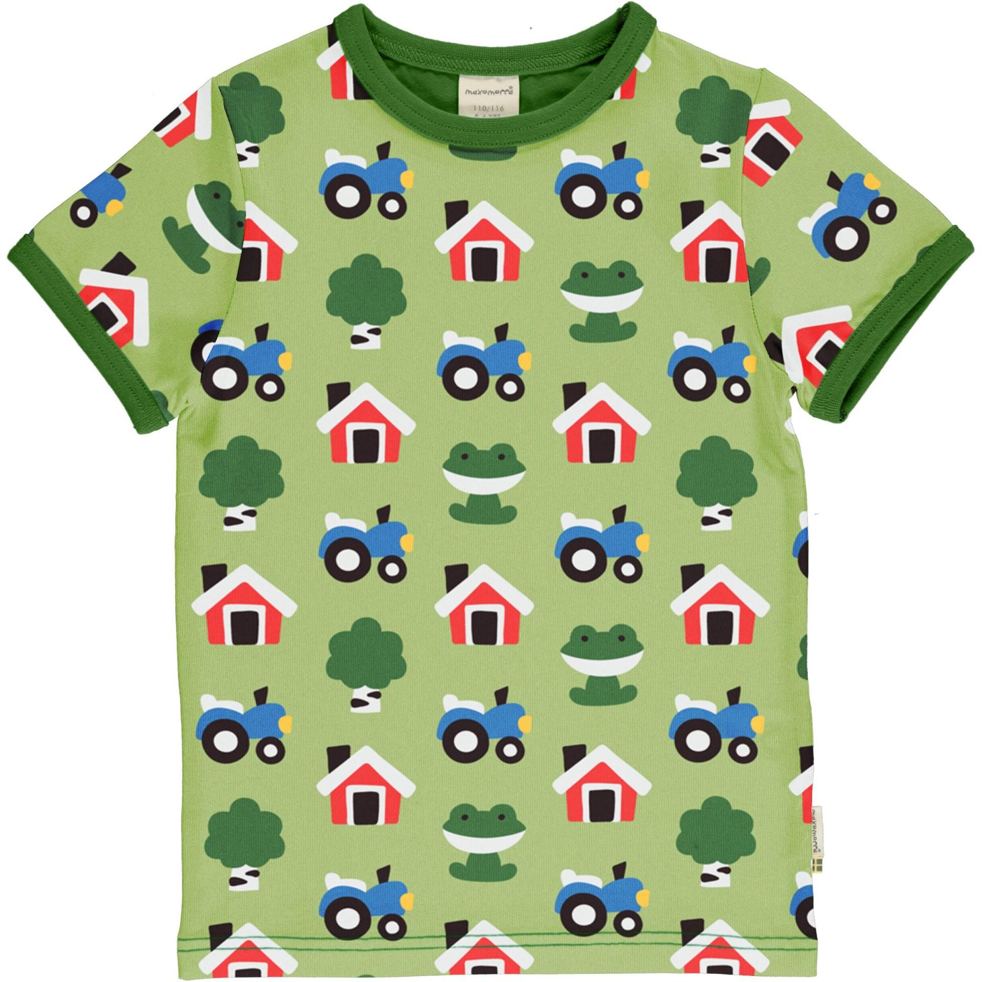 T-shirt FOREST FARM Maxomorra (Tamanhos disponíveis 9-12m, 18-24m)