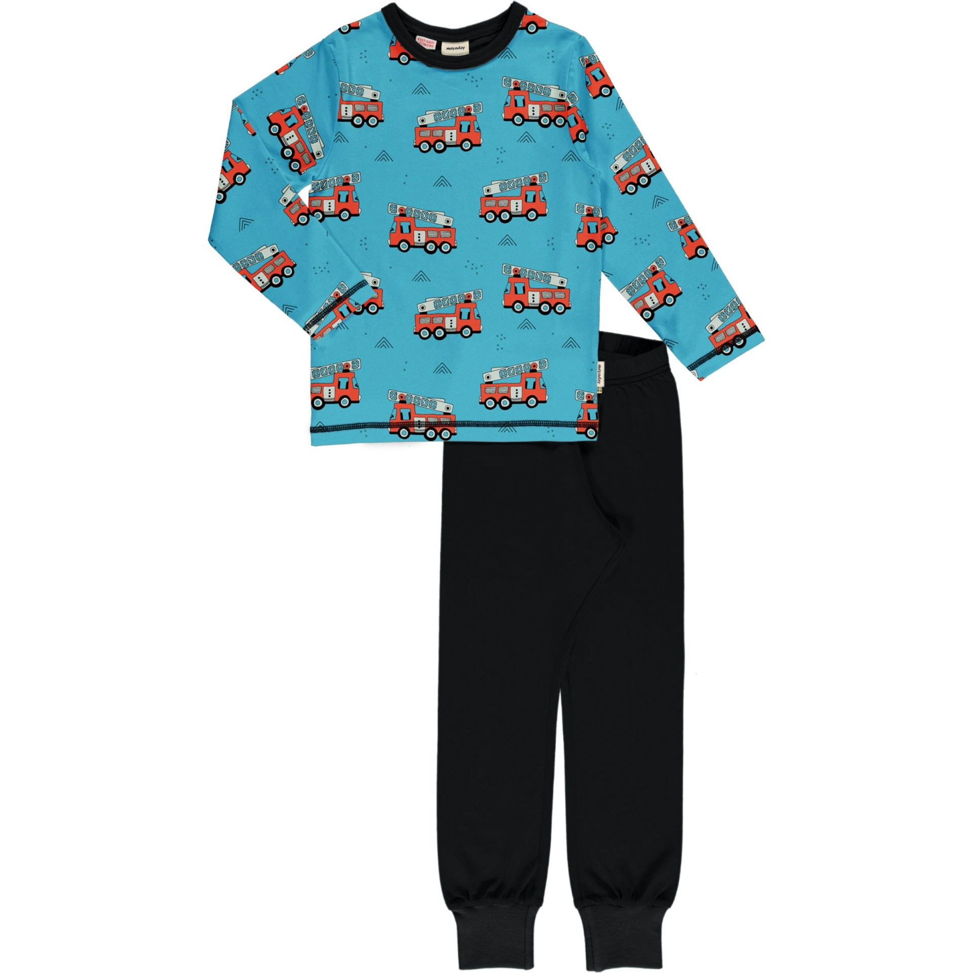 Pijama FIRE TRUCKS Meyaday (Tamanhos disponíveis 9-12m, 18-24m)