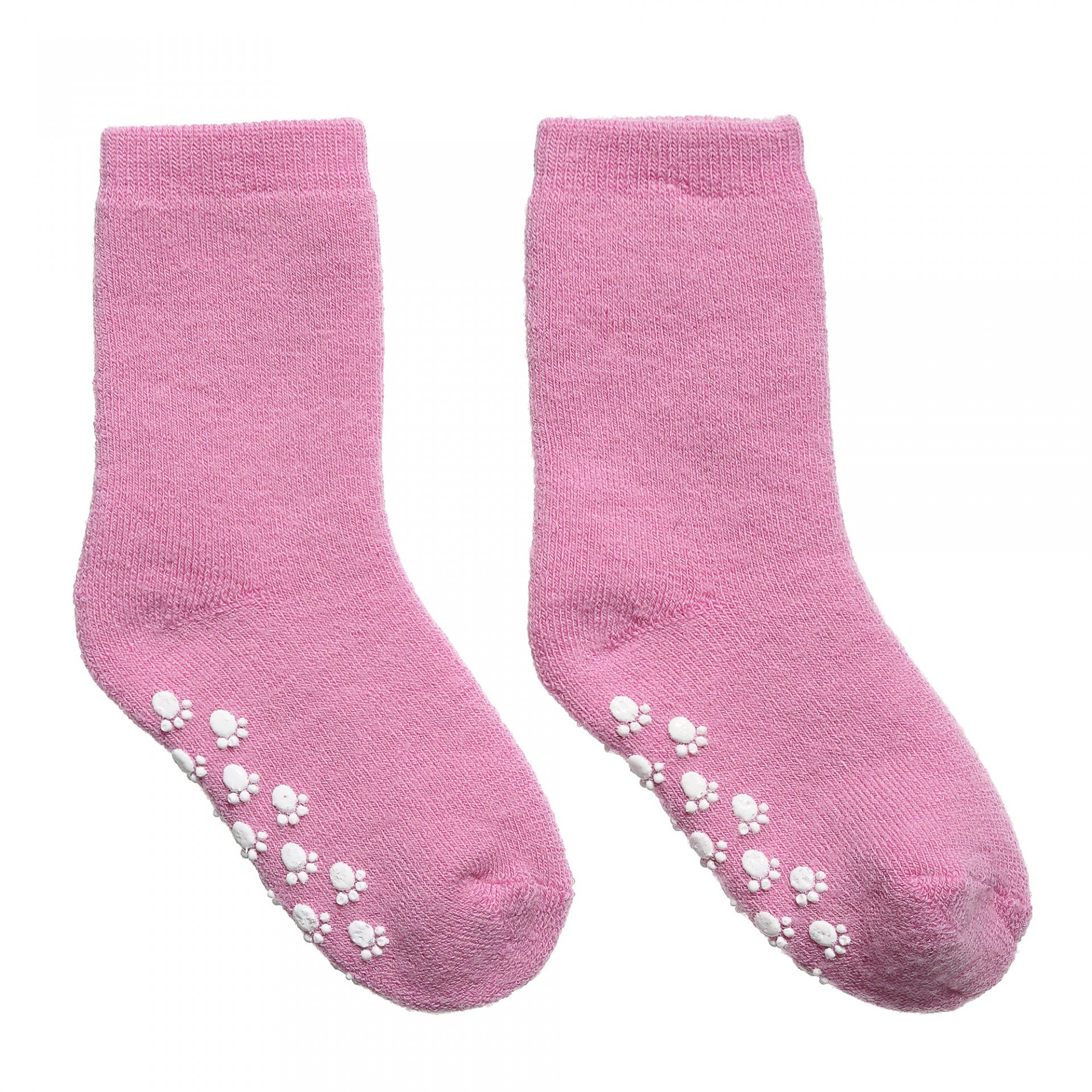 Meias de lã anti-derrapantes Pink JOHA