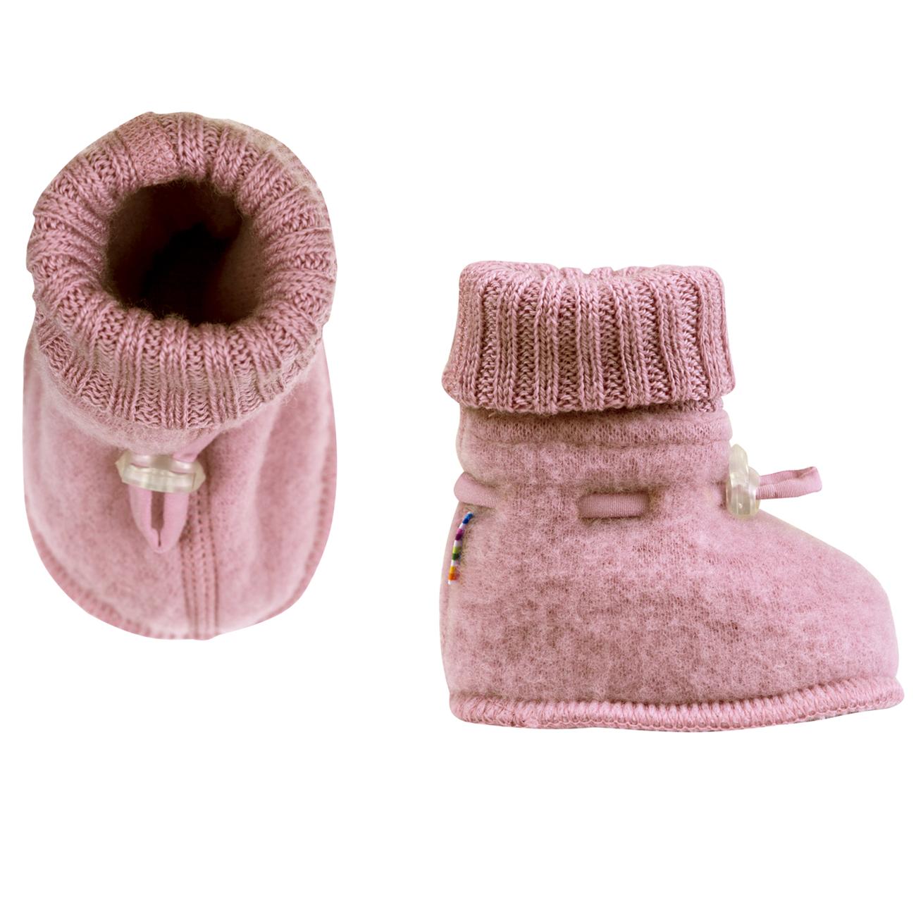 Botas Pink wool fleece JOHA