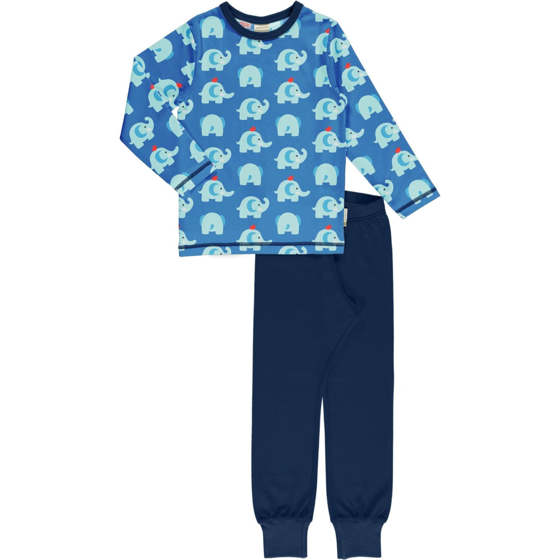 Pijama ELEPHANT FRIENDS Maxomorra (Tamanhos disponíveis 9-12 m, 18-24m )