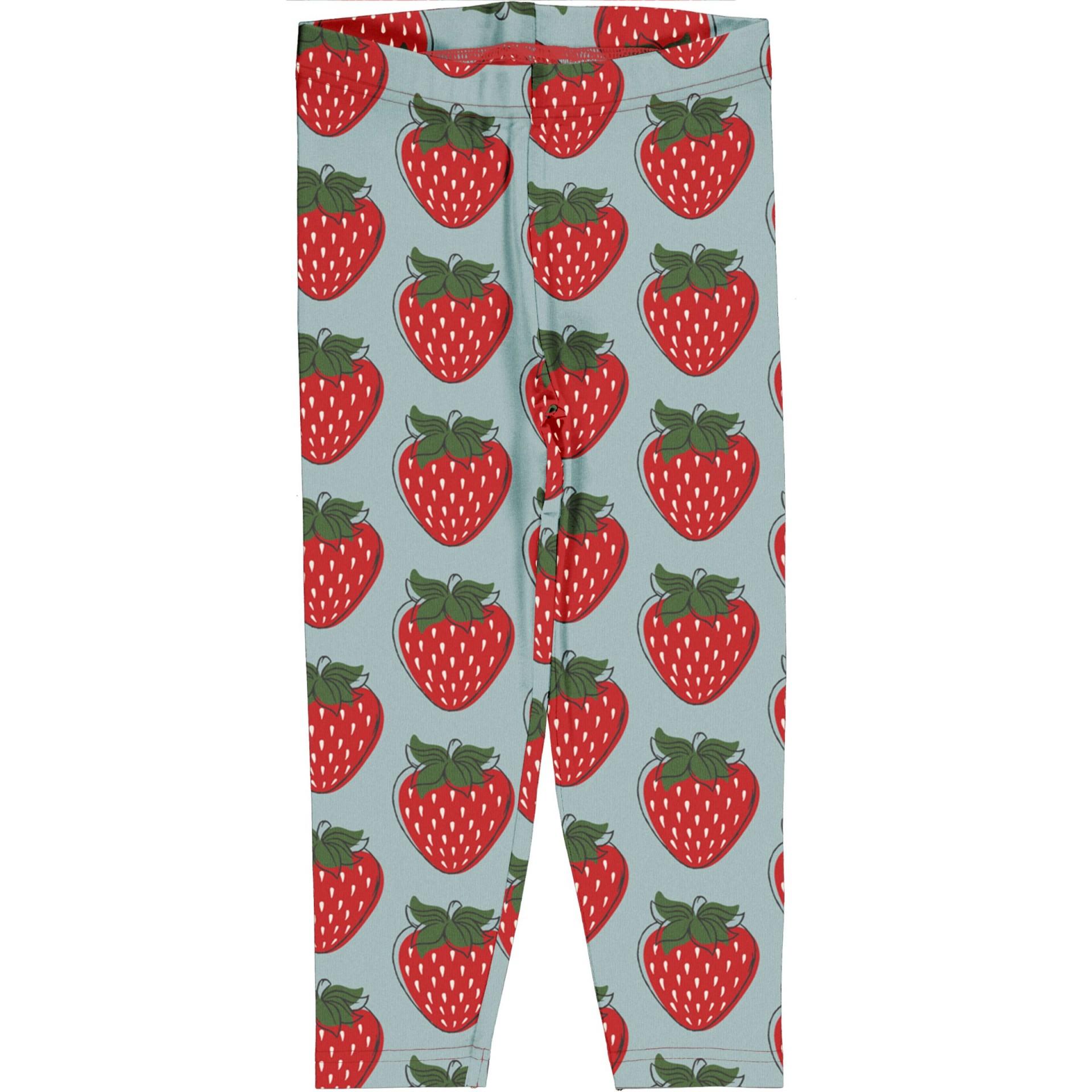 Leggings 3/4 Strawberry Maxomorra (Tamanhos disponíveis 3-6m)