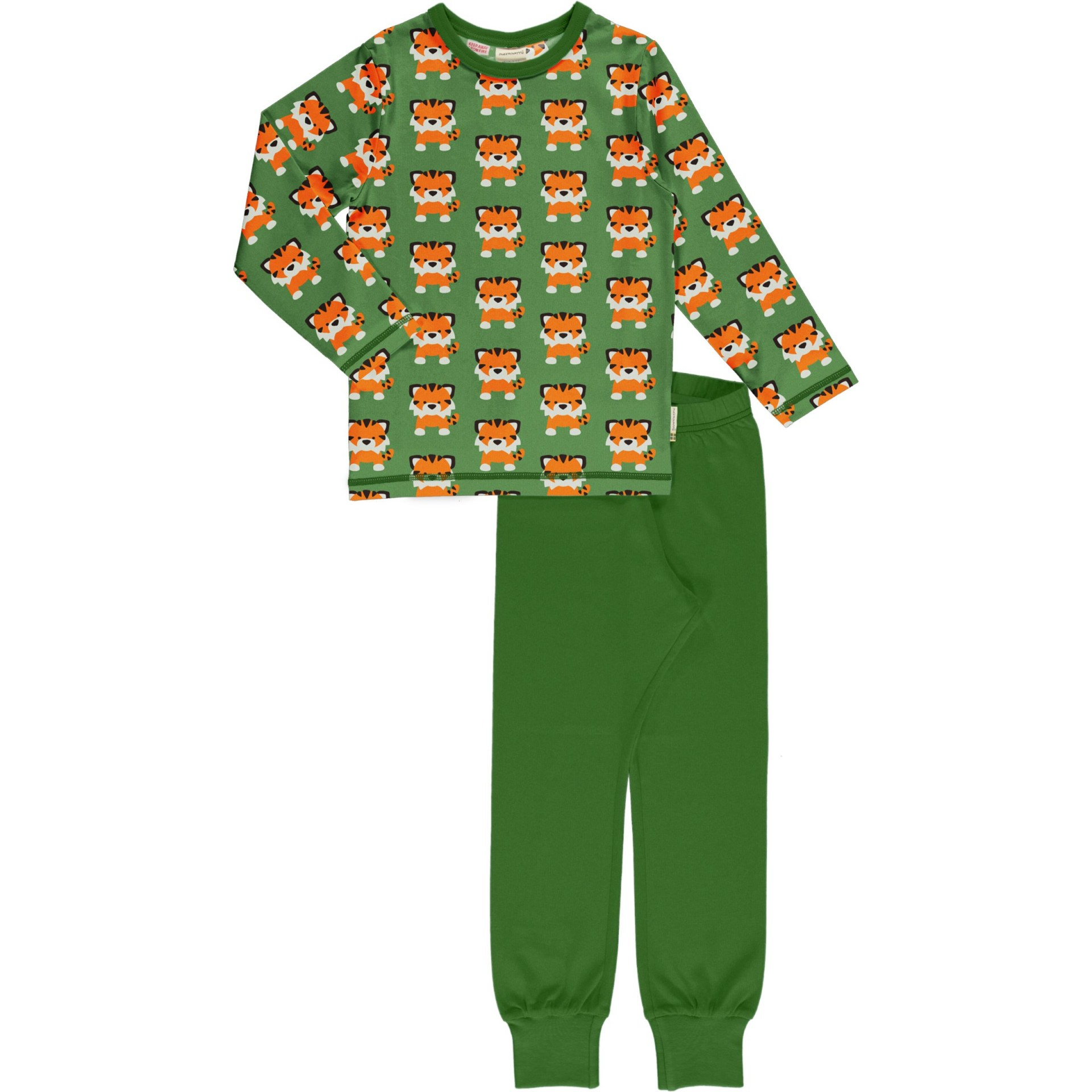 Pijama TANGERINE TIGER Maxomorra (Tamanhos disponíveis 9-12 m, 18-24m )