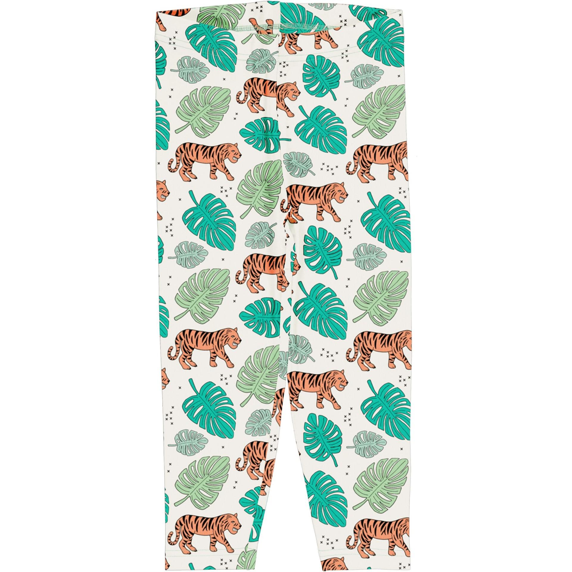 Leggings 3/4 Tiger jungle Meyaday (Tamanhos disponíveis 18-24, 5-6a, 9-10a)