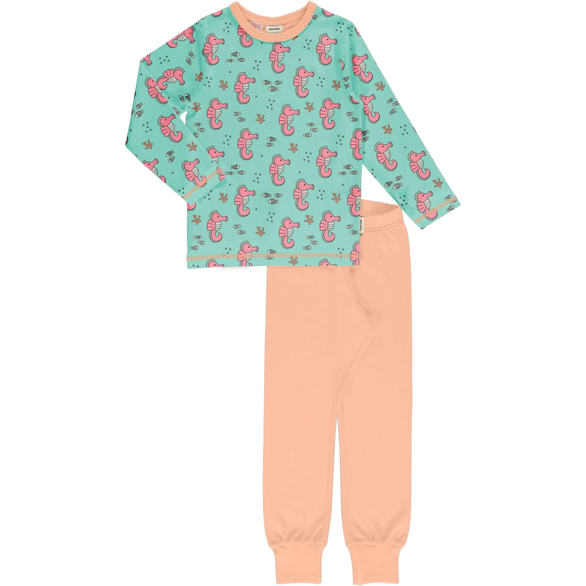 Pijama SEA HORSES Meyaday (Tamanhos disponíveis 3-4a, 5-6a)