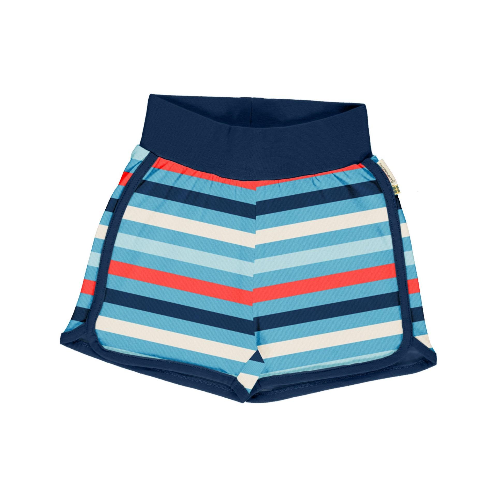 Calções Stripe Sky Maxomorra (Tamanhos disponíveis 3-6, 9-12m, 18-24m)