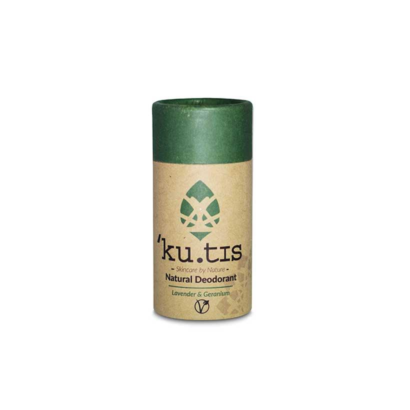 Desodorizante Natural Vegano Lavanda e Gerânio Ku.tis
