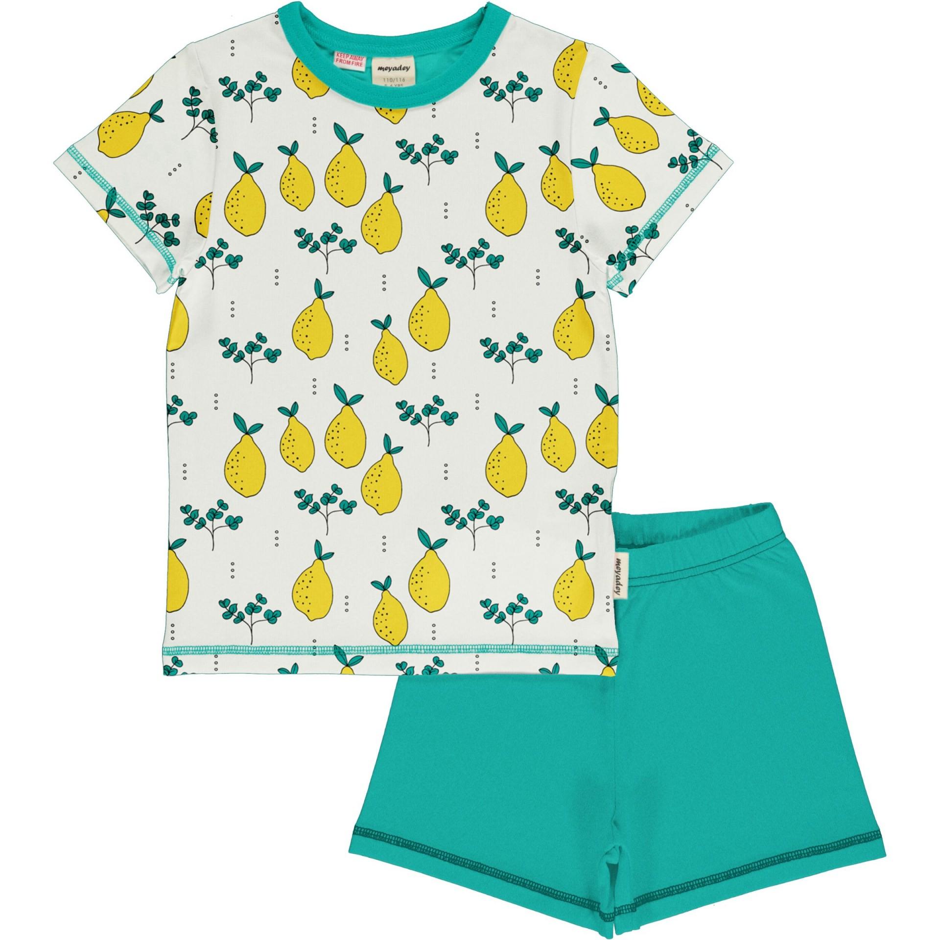 Pijama LEAFY LEMON Meyaday (Tamanhos disponíveis 18-24m, 3-4a, 5-6a, 7-8a)